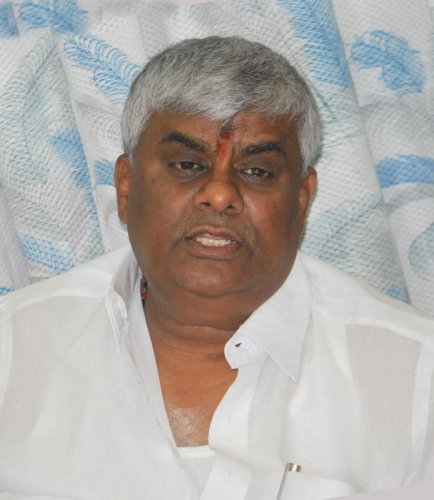 Public Works Department Minister H D Revanna.