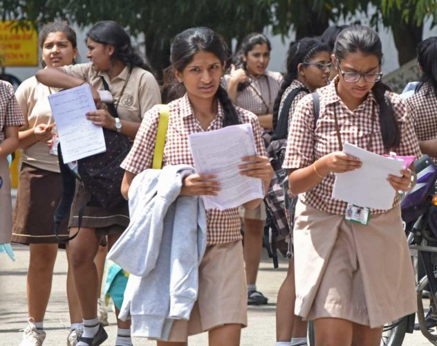 The results of the ICSE Class 10 and ISC Class 12 examinations will be announced on May 14. DH file photo