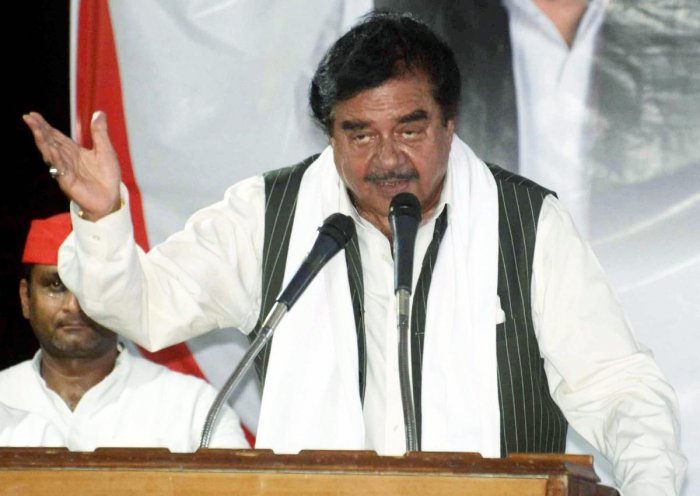 Actor-turned-politician Shatrughan Sinha. (PTI Photo)