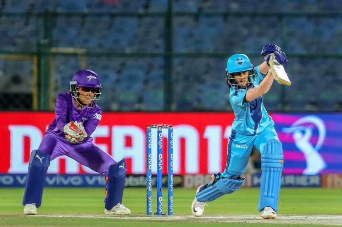 Supernovas Jemimah Rodrigues bats during the VIVO Women T20 Challenge match against Velocity at SMS Stadium in Jaipur on Thursday. PTI file photo