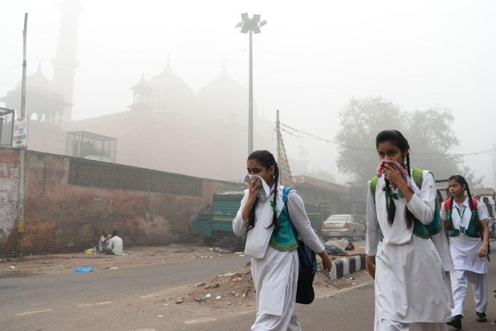Bengaluru has high levels of particulate matter measuring 2.5 microns (fine dust)