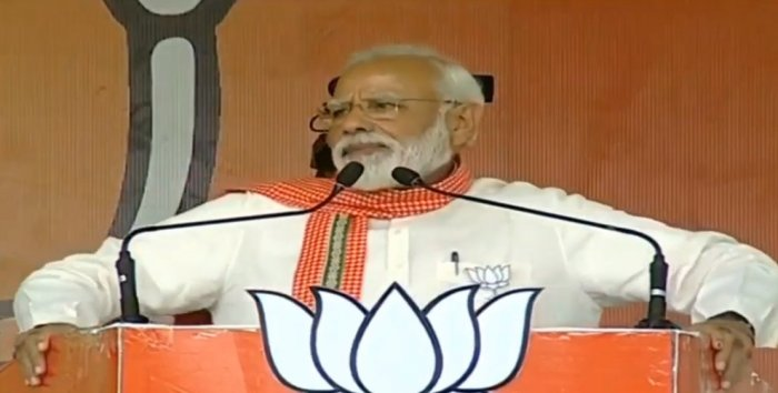 Addressing election rallies at Sonebhadra and Ghazipur districts in the eastern Uttar Pradesh region, Modi also raked up the Alwar gang-rape incident to attack the Congress.