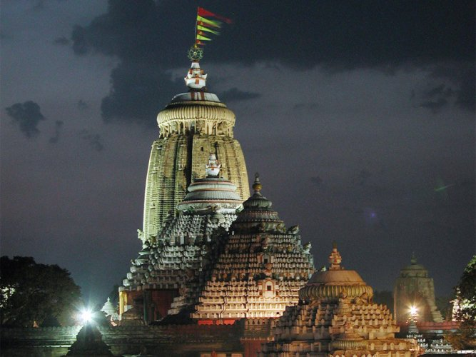 Jagannath temple in Puri. File photo