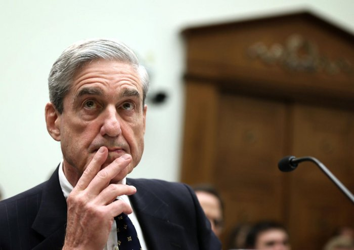 "Mueller has said that Barr, in his own four-page summary of the report, mischaracterized the nature and substance of the investigation's conclusions, which resulted in ""public confusion"" about the findings. (AFP File Photo)"