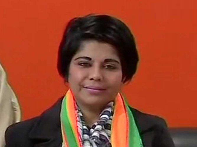BJP candidate Bharati Ghosh. ANI file photo.