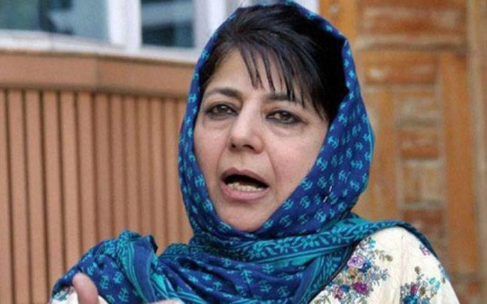 "Mehbooba wondered whether the prime minister authorising the operation in bad weather by overruling the advice of the IAF led to the strikes ""failing"" to hit the intended target."
