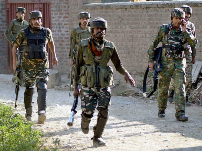 In the wake of the killing of the militants, the authorities suspended Internet services in Shopian, a common government practice, aimed to calm tensions and prevent anti-India demonstrations from being organized. (PTI file photo for representation)