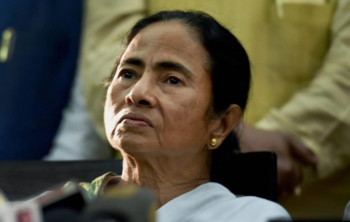 Trinamool supremo Mamata Banerjee, a key player in the anti-Narendra Modi alliance is expected to opt out of the meeting of opposition leaders planned by the Congress after the conclusion of the seven-phase Lok Sabha elections. PTI file photo