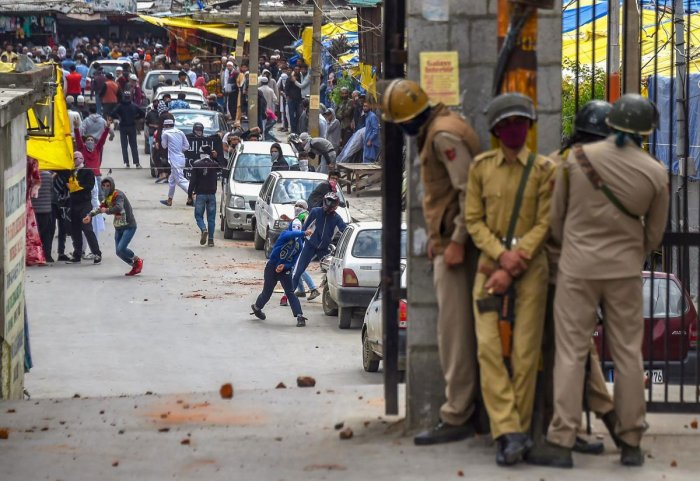 Reports of protests were received from almost parts of Kashmir on Monday with protesters saying such acts can only be curbed when the guilty are hanged in public. (PTI Photo)