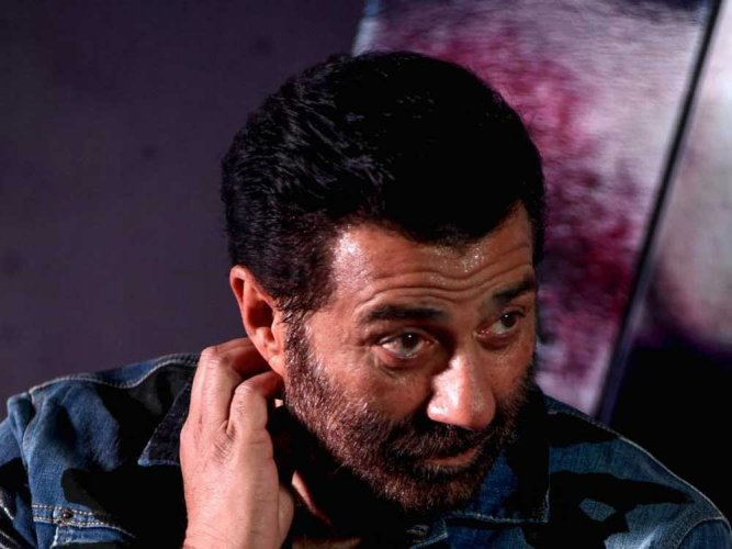BJP's actor-turned-politician candidate Sunny Deol. File photo