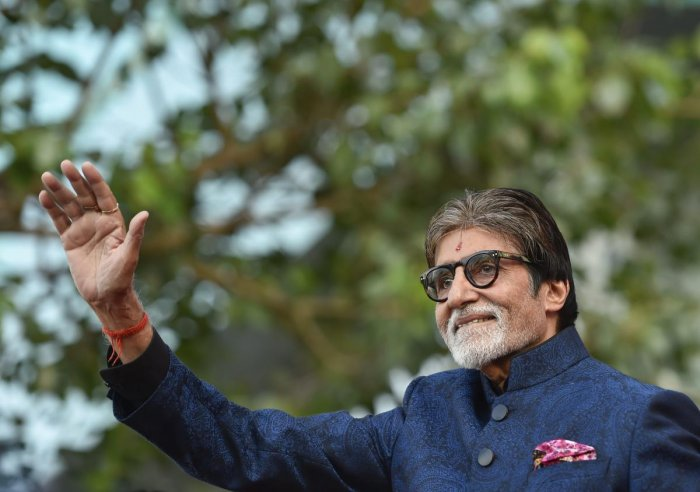 "On Sunday, the 76-year-old actor celebrated the 41st anniversary of the release of ""Don"", which is one of the most popular characters essayed by him. (PTI Photo)"