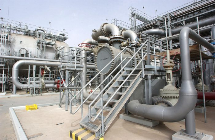 Two pumping stations on a major Saudi oil pipeline were attacked by drones on May 14, 2019, halting the flow of crude along it, Saudi Energy Minister Khalid al-Falih said. He said the attacks on the pipeline from the oil-rich Eastern Province to the Red Sea took place early in the day. Yemen's Huthi rebels said that they had targeted several vital Saudi targets with drones. (AFP File Photo)