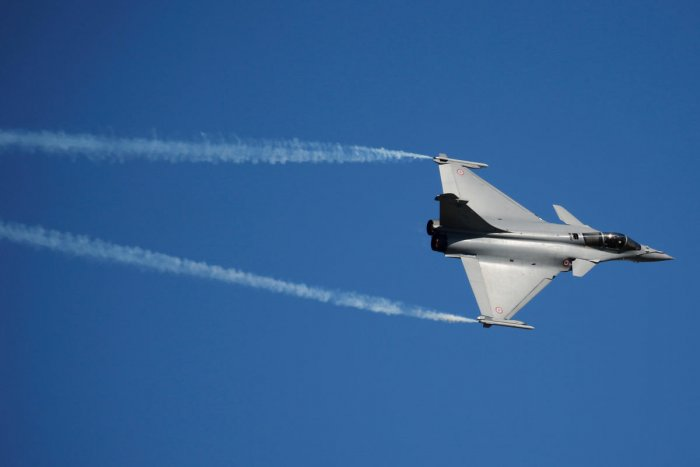 A Dassault Rafale fighter aircraft (REUTERS/Pascal Rossignol/File Photo).