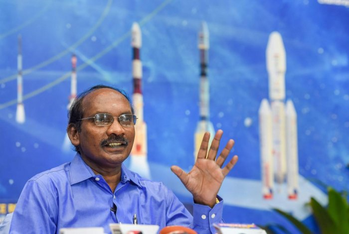 """ISRO Chairman K Sivan had said in January, """"We are going to land at a place where nobody else has gone-the Moon's South Pole... it is unexplored region."""" PTI File photo"""