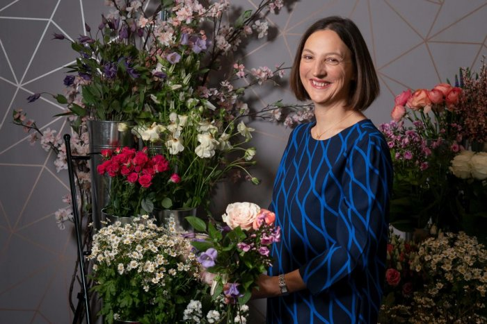 Floral designer Jo Moody has been in the business for 15 years.