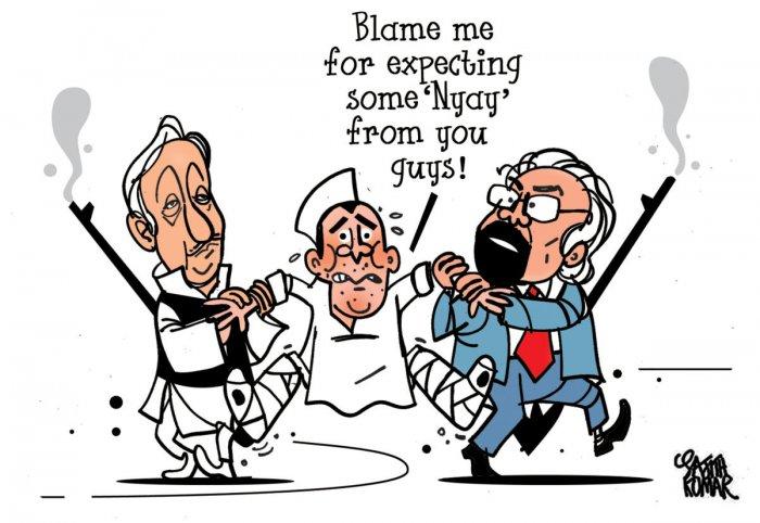 Mani Shankar Aiyar and Sam Pitroda have embarrassed the Congress this polls.