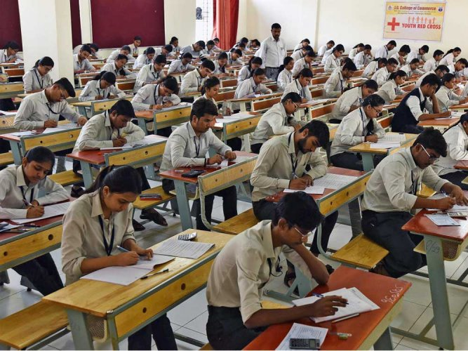Over 11 lakh students took the class 10 exam, while 21 lakh students wrote the class 12 exam. (Image for representation)