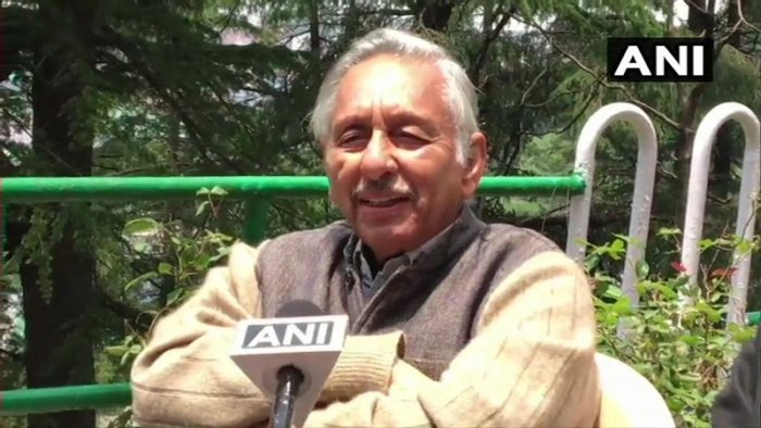 Aiyar lost his temper at tv reporters who met him at the Punjab government guest house here and questioned him over an article he wrote, recalling a slur he directed at Modi in 2017. (Image: ANI/Twitter)