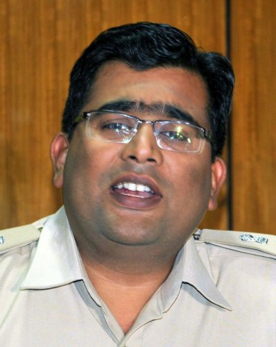 Superintendent of Police Harish Pande