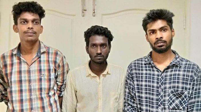 Shyamdas, Arish Kumar and Jibin John.