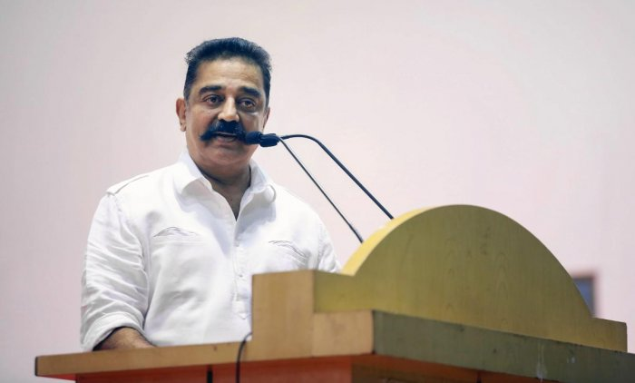 Facing severe backlash over his recent Hindu extremist remarks, Makkal Needhi Maiam (MNM) founder Kamal Haasan on Friday claimed that the very term 'Hindu' was not a native description, but only a foreign coinage. PTI file photo