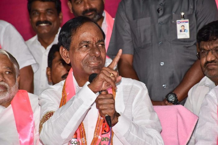 """More importantly, they (BJP and Congress) would want to keep the other out from power,"" another leader of TRS (Telangana Rashtra Samithi) led by Chief Minister K Chandrasekhar Rao said. PTI file photo"