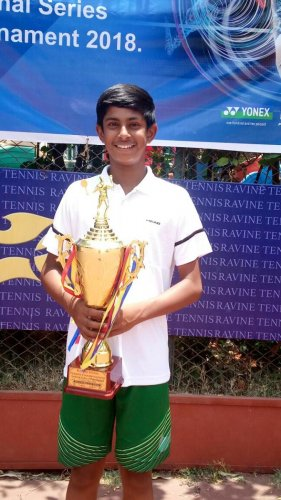 Aayush P Bhat has been consistent with his performance in the national circuit