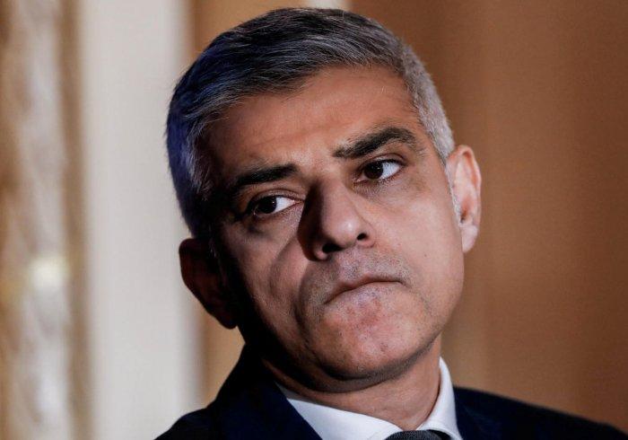 London Mayor Sadiq Khan. Reuters file photo