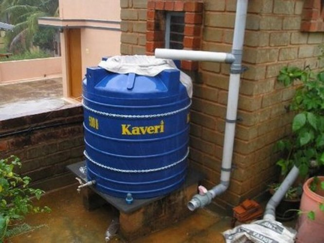 RainwaterHarvesting (Photo DH News Services)