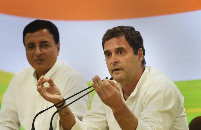 Congress President Rahul Gandhi (Photo PTI)