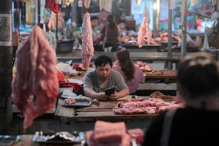 China's struggle with outbreaks of a deadly swine disease sends shockwaves through global meat markets. Reuters file photo
