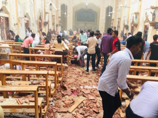 Nine suicide bombers carried out a series of devastating blasts that tore through three churches and as many luxury hotels on April 21, killing more than 250 people and injuring 500 others. File photo