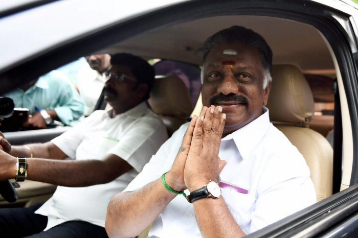 """Responding to Chief Minister K Palaniswami's remarks that the exit polls were """"imposing of opinions"""", his deputy said such views were based on the respective individuals' """"frame of mind"""", but did not elaborate. PTI File photo"""