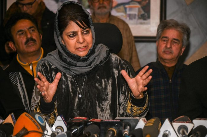 Peoples Democratic Party (PDP) President Mehbooba Mufti. (PTI File Photo)