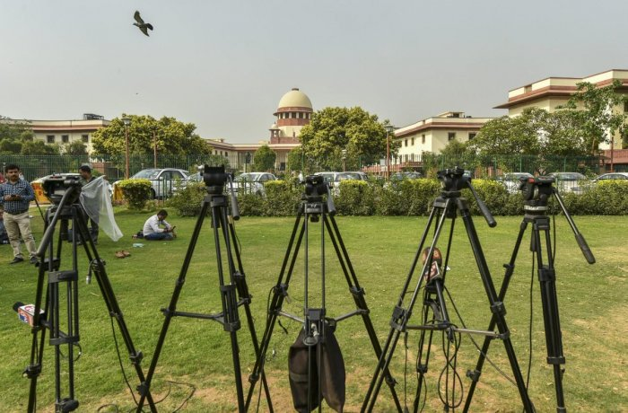 A vacation bench comprising Justices Arun Mishra and M R Shah said it was not inclined to entertain the petition as polling is already over. (PTI File Photo)