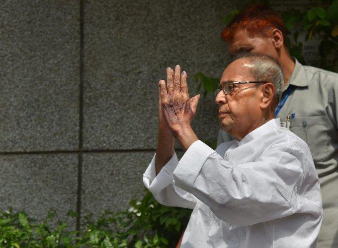 Former president Pranab Mukherjee. (PTI File Photo)
