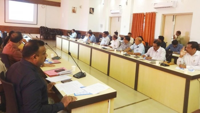 The Food Safety and Standard Committee meeting was held at the DC's office in Madikeri recently.