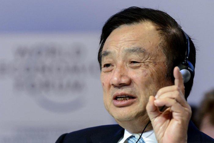 Huawei Founder and CEO Ren Zhengfei. (AFP File Photo)