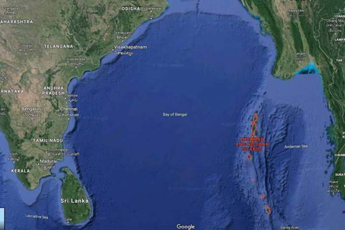 The quake, which had its epicentre in the Andaman islands, occurred at 6:09 am, the National Centre for Seismology said.