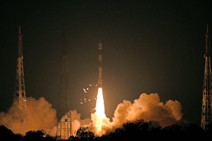 The RISAT-2B (Radar Imaging Satellite-2B), meant for application in fields such as surveillance, agriculture, forestry and disaster management support, was released into the orbit around 15 minutes after the lift-off.