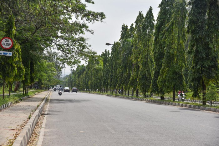 Bangalore University's campus is spread over 1,112 acres. DH file photo