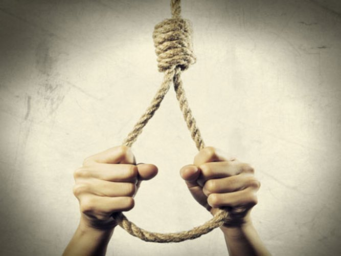 A car driver committed suicide over 'harassment' by his wife and her family.