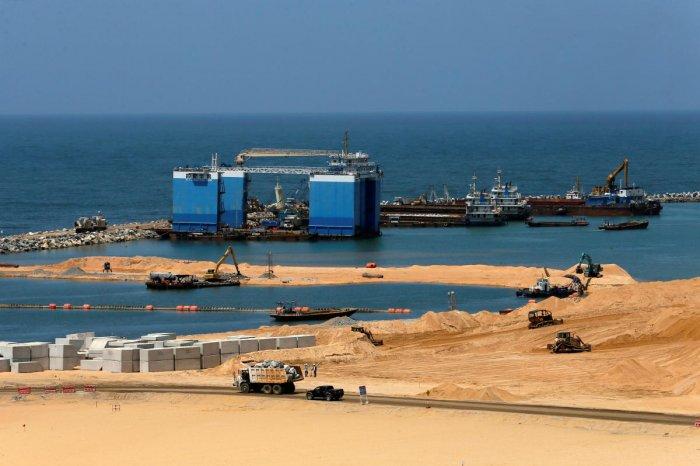 Colombo Port City construction site  (REUTERS/File Photo)