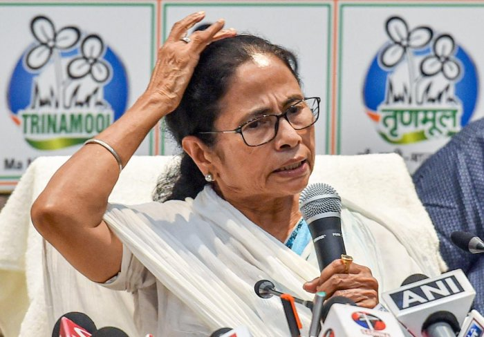 The TMC supremo also said that she told her party colleagues that the Lok Sabha elections were held in an emergency like situation and she had no choice but to run the government in a very humiliating situation. PTI photo