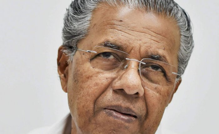 Vijayan also categorically rejected the demand of the Opposition in Kerala, the Congress as well as the BJP, for his resignation, taking moral responsibility for the defeat in 19 out of 20 seats. File photo
