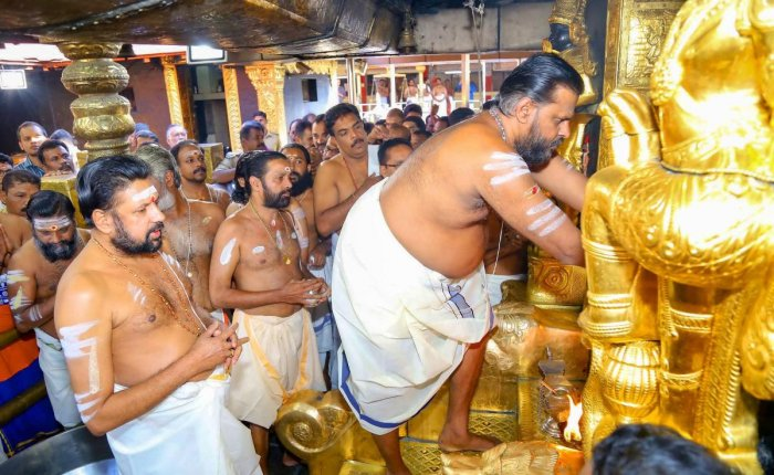 An auditing of the records of the strong room in which the gold and silver received as offering at Sabarimala Ayyappa temple will be conducted on Monday in the wake of certain mismatches in records. PTI file photo