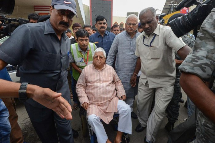 Stunned by the rout of his Rashtriya Janata Dal in Bihar and Jharkhand in the Lok Sabha election, Lalu Prasad Yadav had given up lunch after the declaration of poll results on May 23 for two days.