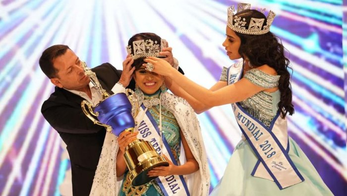 Sushmita Singh has won the coveted Miss Teen World (Mundial) Crown at a glittering ceremony in El Salvador. (TPML Photo)