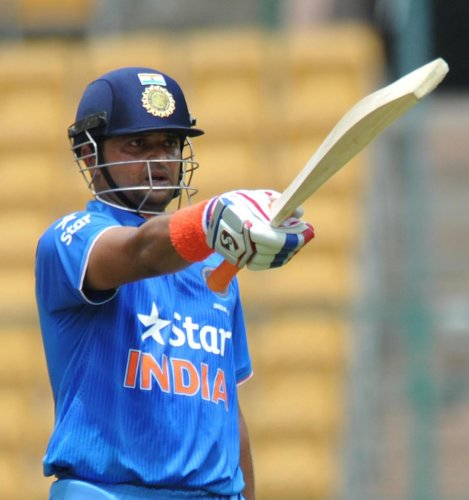 Suresh Raina feels MS Dhoni, with his immense experience and ice-cool composure, can help India regain the World Cup.