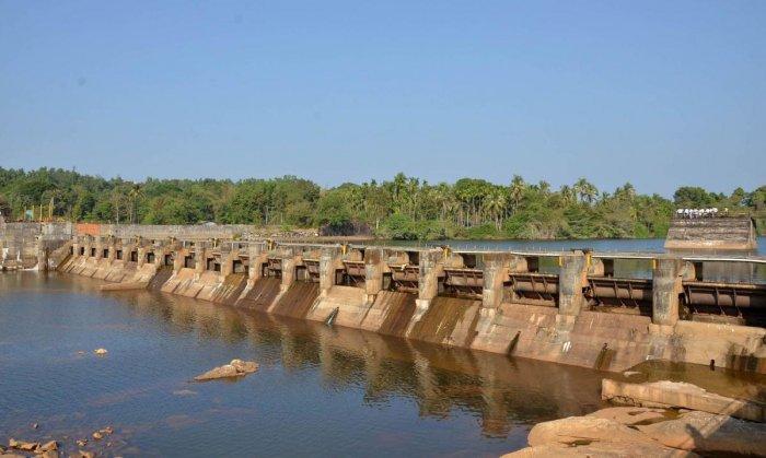 A file photo of Baje dam in Udupi.